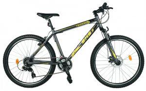 Bicicleta Mountain Bike DHS Terrana 2625 - model 2015 26''-Gri-Galben-495 mm
