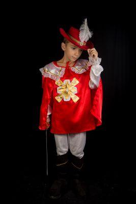 Costum print, cavaler, muschetar 286