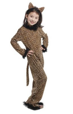 Costum carnaval leopard fetite 1316