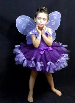 Costum, rochita fluturas pentru fetite 1034