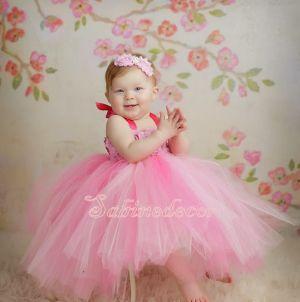 Rochie roz ocazie copii 785V