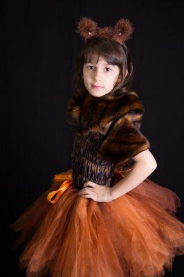 Costum serbare fete Veverita, Vulpe 16