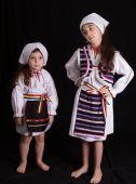 Costum serbare national fetite 498