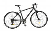 Bicicleta Cross Fitness DHS Contura 2865 - model 2015 28''-Gri-Rosu-Cadru 480 mm