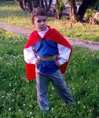 Costum print din Alba ca Zapada 1005