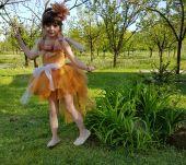 Inchiriere costum serbare copii pupaza, vrabiuta 34