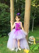 Rochie lila pentru fetite 1422V