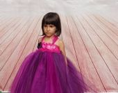 Rochie mov pentru fetite 1425V